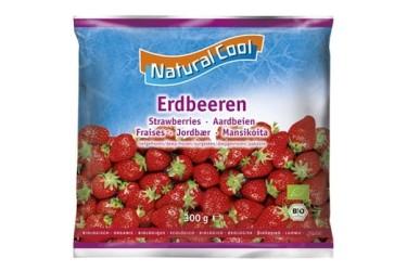 Biologische Aardbeien (Natural Cool, 300 gram)