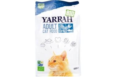 Biologische Droogvoer Adult voor katten Voordeelverpakking (Yarrah, 6 x 800 gram)