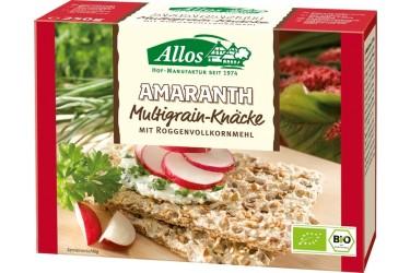 **Knackebrod Amaranth Meergranen (Allos, 250 gram)