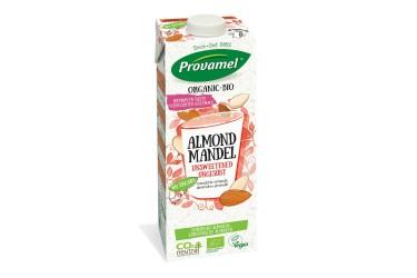 Biologische Amandeldrink zonder suiker grootverpakking (Provamel, 12 x 1 liter)