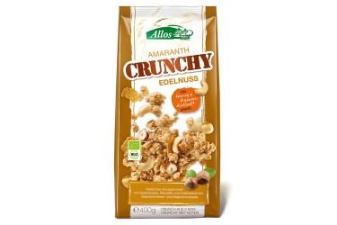 Biologische Amaranth Crunchy Noten Voordeelverpakking (Allos,6 x 400 gram)