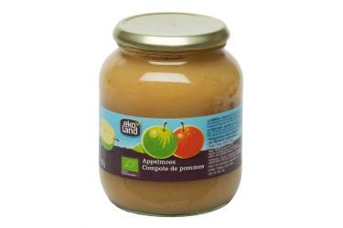 Biologische Appelmoes (Ekoland, 700 gram) OP=OP