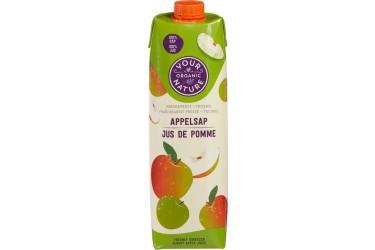 Biologisch Appelsap Voordeelverpakking (Your Organic Nature, 6 x 1 liter)
