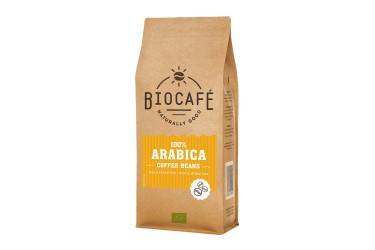 Biologische Koffie Bonen Arabica Voordeelverpakking (Biocafe, 4 x 1 kilo)