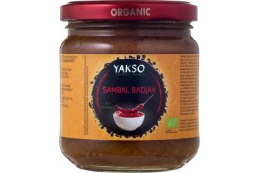 Biologische Sambal Badjak Voordeelverpakking (Yakso, 6 x 200 gram)
