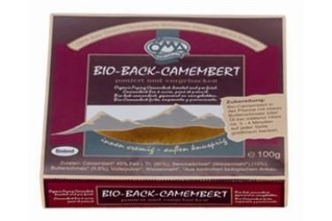 Biologische Bakcamembert (Oma, 100 gram)