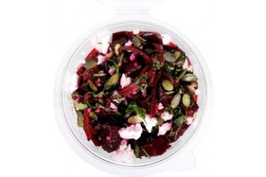 Biologische Salade Rode Biet en Geitenkaas (Crave Good Food, 150 gram)
