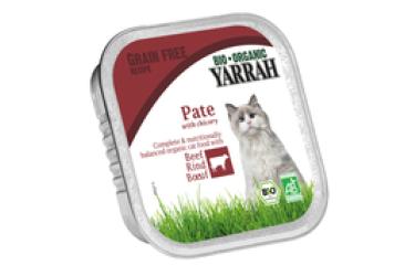 Biologische Pate Rund met Cichorei Voordeelverpakking (Yarrah, 16 x 100 gram)