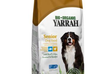 Biologisch Droogvoer Senior met Kip & vis (Yarrah, 2 kilo)