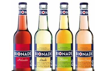 * Frisdrank BIONADE diverse smaken (4 x 330 ml)