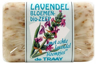 De Traay Bloemenzeep Lavendel (250 gram)