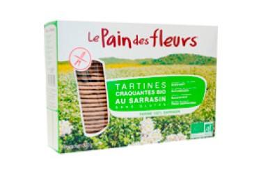 Biologische Boekweit-knäckebröd Voordeelverpakking (Pain des Fleurs, 12 x 150 gram)