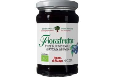 Biologisch Fruitbeleg Blauwe Bosbes Voordeelverpakking (Fiordifrutta, 6 x 250 gram)