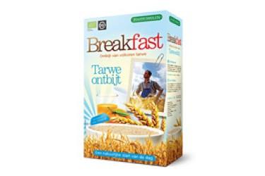Biologische Breakfast tarwe-onbijt  Voordeelverpakking (Joannusmolen, 6 x 300 gram)