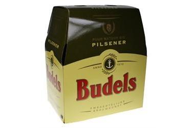 Biologische Pilsener Budels, 6-pack
