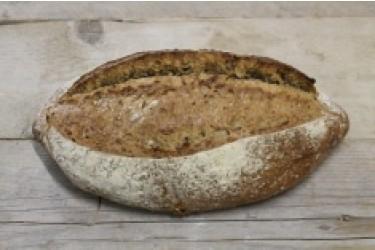 Biologische Cardos Meergranen Brood  GESNEDEN (Biobakker Van Esch, 850 grams)