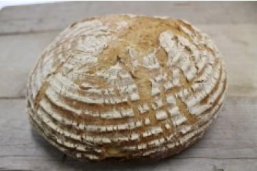 Biologische Cardos Rogge Witbrood GESNEDEN (Biobakker Van Esch, 850 grams)