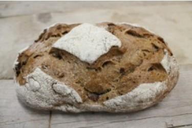 Biologische Cardos Brood Walnoten-Rozijnen (Biobakker Van Esch, 500 grams)