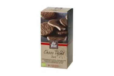 Biologische Chocolade Wafeltje Puur (De Rit, 125 gram)