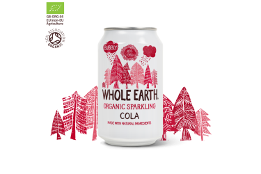 Biologische Cola Voordeelverpakking (Whole Earth, 24 x 330 ml)