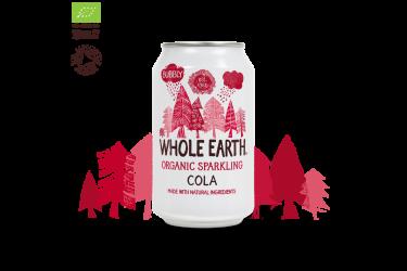 Biologische Cola Voordeelverpakking (Whole Earth, 24 x 330 ml)