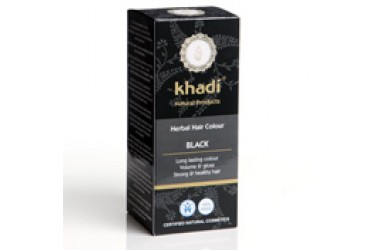 Khadi Hair Colour Black (Khadi, 100 gram)