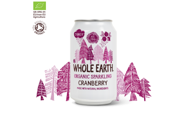 Biologische Cranberry Frisdrank (Whole Earth, 330 ml)