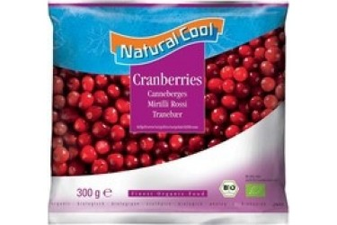 Biologische Cranberries (Natural Cool, 300 gram)