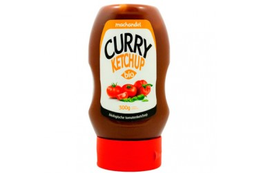 Biologische Curry-Ketchup in knijpfles (Machandel, 300 ml)