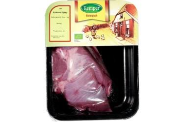 Biologische Kalkoen Dijvlees (Kemper, 375 gram)