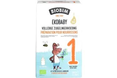 Biologische Zuigelingenmelk 1 - 6 maand Voordeelverpakking (Biobimlac Ekobaby 1, 3 x 600 gram)