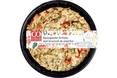 Biologische Frittata met Broccoli en Paprika (Oorsprong, 350 gram)