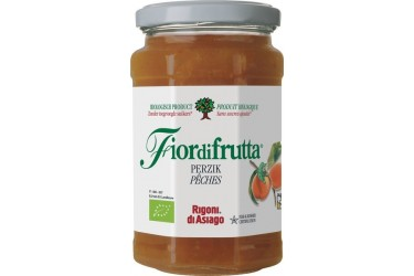 Biologisch Fruitbeleg Perzik Voordeelverpakking (Fiordifrutta, 6 x 250 gram)