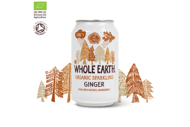 Biologische Gember Frisdrank (Whole Earth, 330 ml)