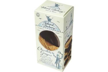 Biologische Chocolate Gingers Voordeelverpakking (Island Bakery, 12 x 150 gram)