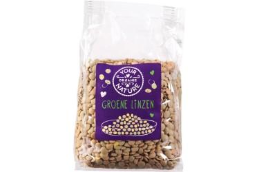 Biologische Linzen Groen Voordeelverpakking (Your Organic Nature, 6 x 400 gram)
