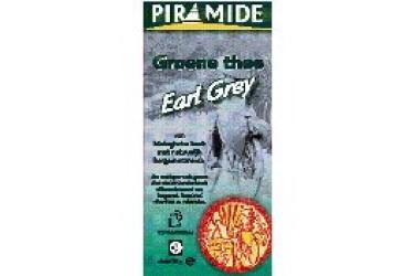 ** Biologische Groene Thee Earl Grey (Piramide, 20 builtjes)