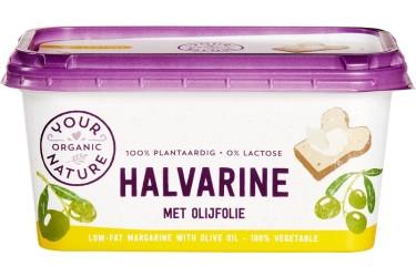 Biologische Halvarine met Olijfolie (Your Organic Nature, 500 gram)