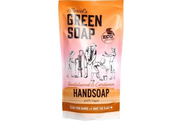 Handzeep Sandelwood&Cardemom (Marcels Green Soap, 500 ml)