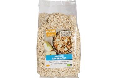Biologische Naakte Havermout Voordeelverpakking (Puur Rineke, 6 x 500 gram)