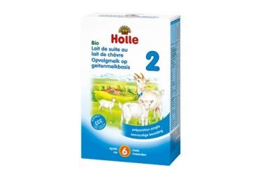 Biologische Zuigelingen Geitenmelk 2 v.a. 6 maand (Holle, 400 gram)