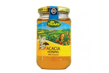 Biologische Acaciahoning, De Traay (900 gram)