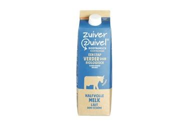 Biologische Halfvolle Melk Demeter (Zuiver Zuivel, 1 liter)