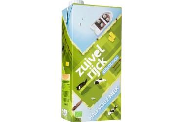 Biologische Melk Halfvol Houdbaar Voordeelverpakking (Zuivelrijck, 12 x 1 liter)