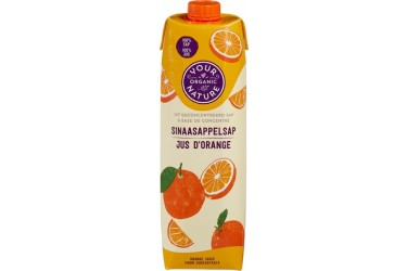 Biologische Jus d'Orange (Your Organic Nature, 1 liter)