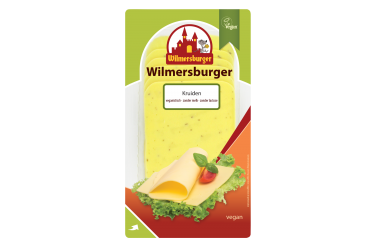 Wilmersburger Plakjes Kaas Kruiden Vegan (Wilmersburger, 150 gram)