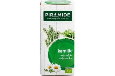 Biologische Thee Kamille Voordeelverpakking (Piramide, 6 x 20 builtjes)