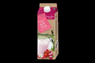 Biologische Kefir Drink Aardbei-Framboos (Weerribben Zuivel, 1 liter)