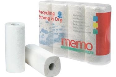 Keukenpapier 3-laags (Memo, 4 rol)