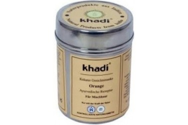 Khadi Orange Face Mask (Khadi, 50 gram)